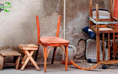 ¿Qué hacer con los muebles viejos en Madrid?