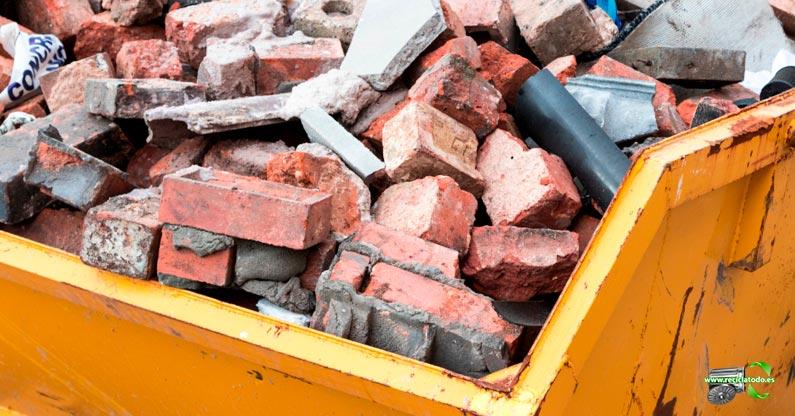 ¿Qué hacer con los escombros de una obra en Madrid?