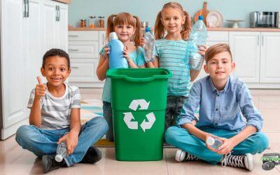Enseñar a los niños a reciclar